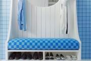 Фото 2 Тумба для обуви с сиденьем: 65+ решений для стильной и эргономичной прихожей