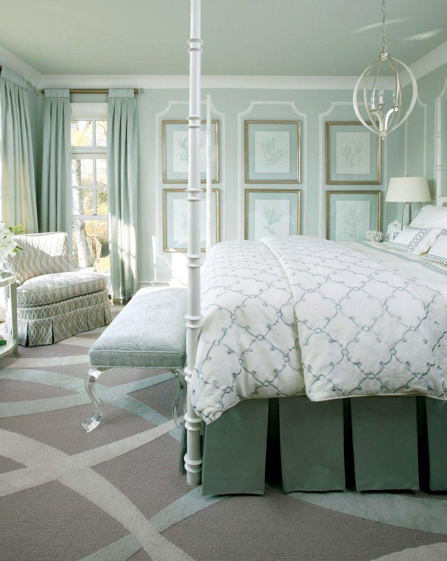Мягкий ковролин в спальне - уютно и тепло