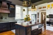 Фото 31 Встроенная кухня (50 фото): плюсы и минусы, варианты исполнения