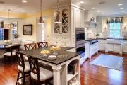 Фото 30 Встроенная кухня (50 фото): плюсы и минусы, варианты исполнения