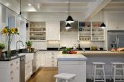 Фото 27 Встроенная кухня (50 фото): плюсы и минусы, варианты исполнения