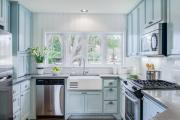 Фото 25 Встроенная кухня (50 фото): плюсы и минусы, варианты исполнения