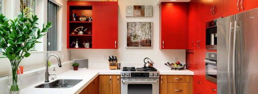 Встроенная кухня (50 фото): плюсы и минусы, варианты исполнения