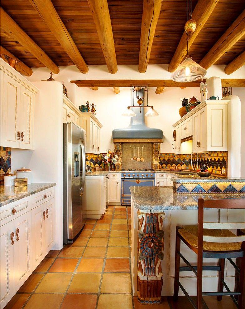 Эклектичный дизайн встроенной кухни – это смело, оригинально и очень стильно