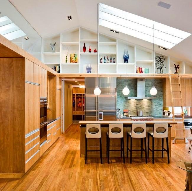 Встроенная кухня (50 фото): плюсы и минусы, варианты