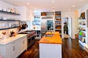 Фото 11 Встроенная кухня (50 фото): плюсы и минусы, варианты исполнения