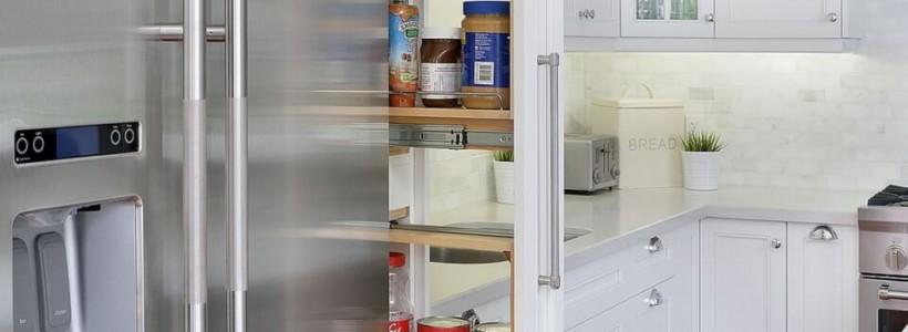 Выдвижные корзины для кухни (45 фото): оптимизация рабочего пространства