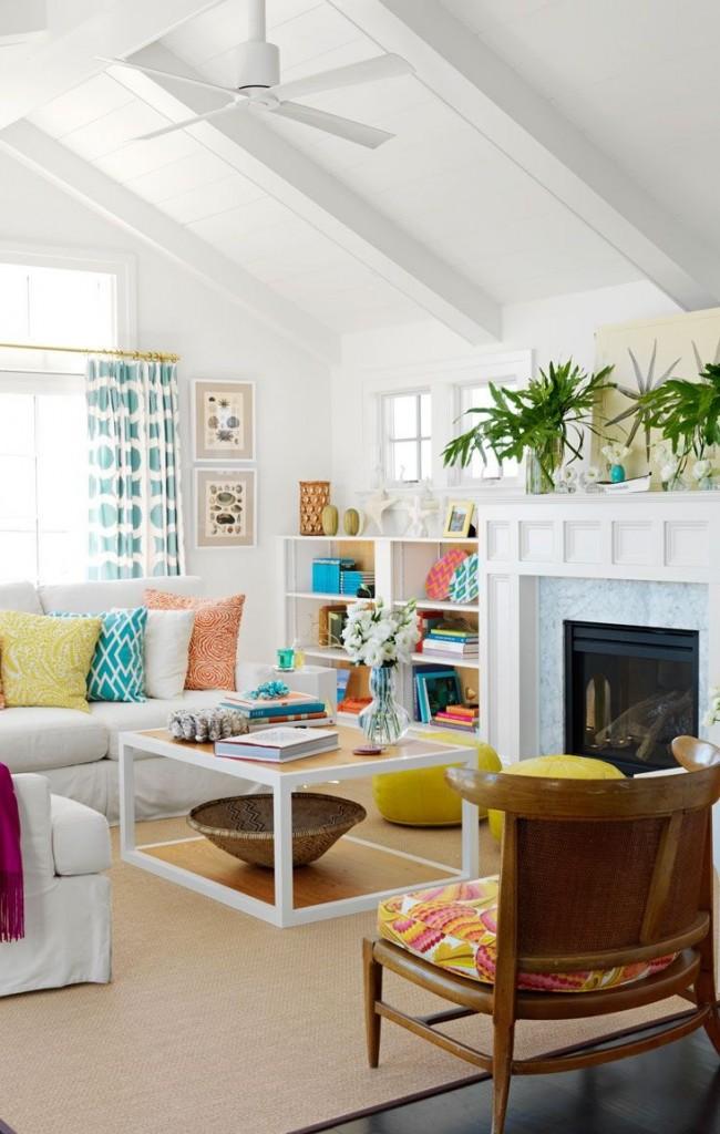 Интерьер можно основательно преобразить в лучшую сторону, используя простые элементы декора