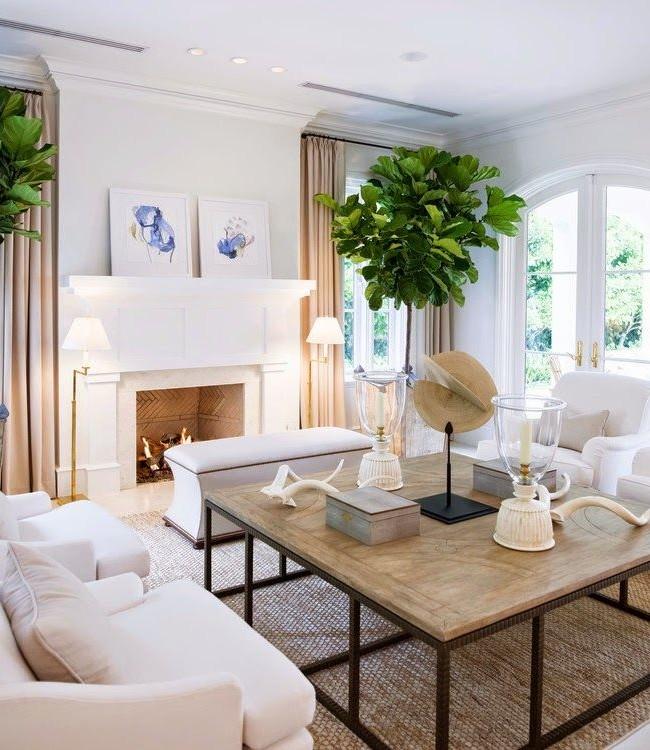 Свободное и светлое пространство - необходимое условие для интерьера в американском стиле