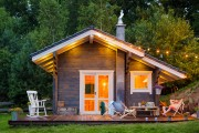 Фото 3 Проекты финских домов из бруса (49 фото): от мечты до реальности очень близко