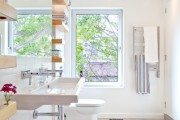 Фото 5 Раковина в ванную комнату (65+ моделей в интерьере): обзор современных материалов и как не ошибиться с размерами?