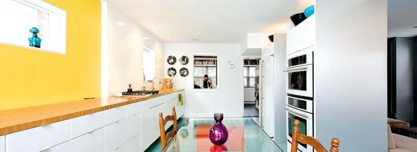 Стеклянные столы для кухни (59 фото): изящная хрупкость с сильным характером