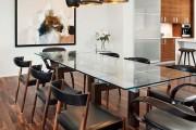 Фото 1 Стеклянные столы для кухни (59 фото): изящная хрупкость с сильным характером