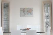 Фото 27 Стеклянные столы для кухни (59 фото): изящная хрупкость с сильным характером