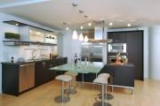 Фото 29 Стеклянные столы для кухни (59 фото): изящная хрупкость с сильным характером