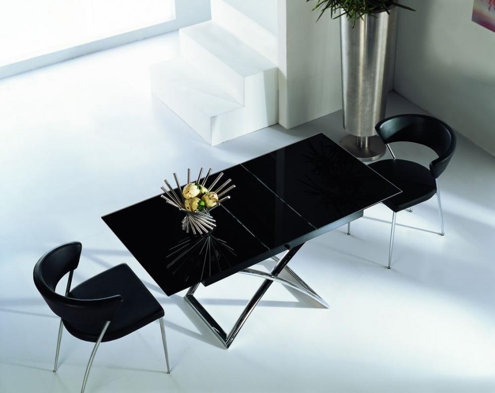 Стеклянный стол трансформер - это хороший компромисс между функциональностью и стилем
