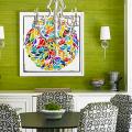 Зеленые обои в интерьере: как придать пространству свежести и 50+ лучших сочетаний фото
