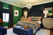 Фото 1 Зеленые обои в интерьере: как придать пространству свежести и 50+ лучших сочетаний