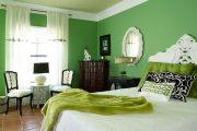 Фото 6 Зеленые обои в интерьере: как придать пространству свежести и 50+ лучших сочетаний