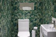Фото 8 Зеленые обои в интерьере: как придать пространству свежести и 50+ лучших сочетаний