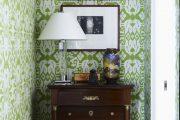 Фото 11 Зеленые обои в интерьере: как придать пространству свежести и 50+ лучших сочетаний