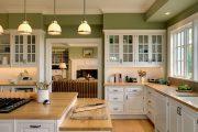 Фото 19 Зеленые обои в интерьере: как придать пространству свежести и 50+ лучших сочетаний