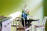 Фото 27 Зеленые обои в интерьере: как придать пространству свежести и 50+ лучших сочетаний