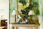 Фото 29 Зеленые обои в интерьере: как придать пространству свежести и 50+ лучших сочетаний