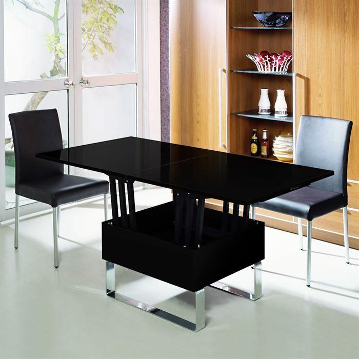 Несложные манипуляции помогают превратить малозаметный столик в обеденный стол