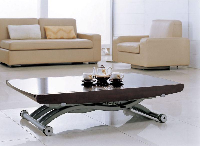 Невидимость механизма может быть важна в некоторых интерьерах, и поэтому может стать преимуществом при выборе столика