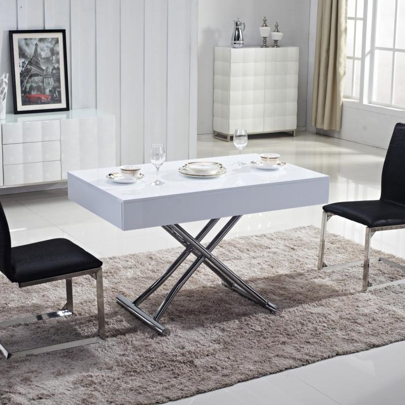 В зависимости от механизма, некоторые столы могут быть разложены не полностью, а до наиболее оптимального состояния