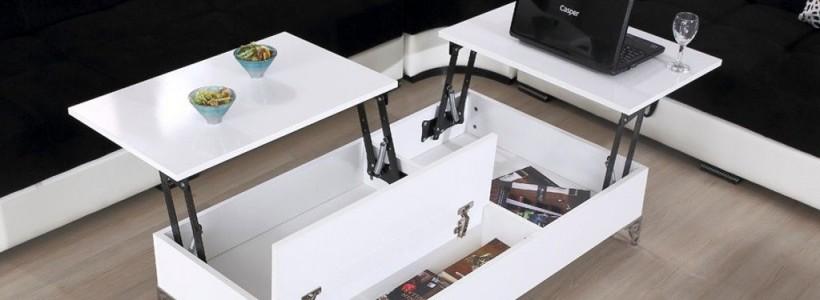 Журнальный столик трансформер (фото): как обмануть пространство