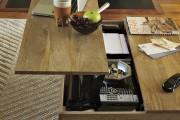 Фото 28 Журнальный столик трансформер (фото): как обмануть пространство