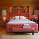 Кровати кожаные (69 фото): стильная роскошь в современном интерьере фото