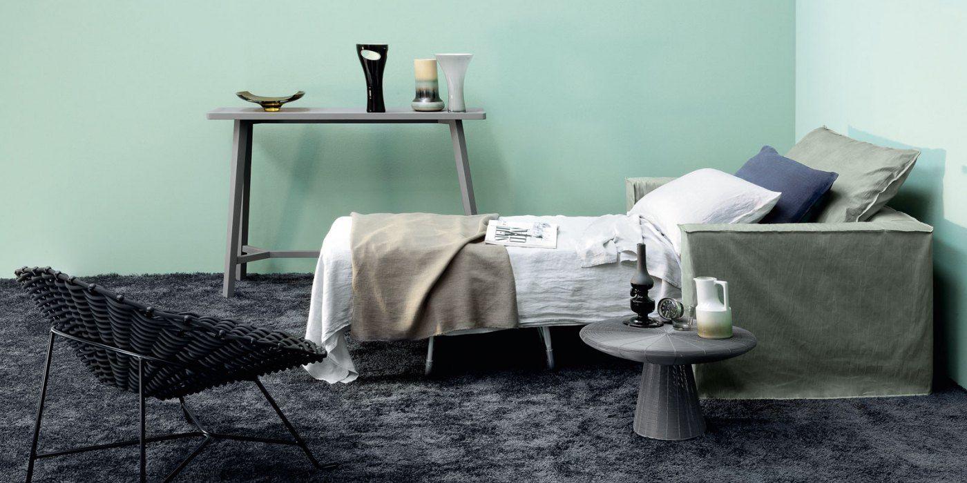 Пример спального места в диване с механизмом французская раскладушка