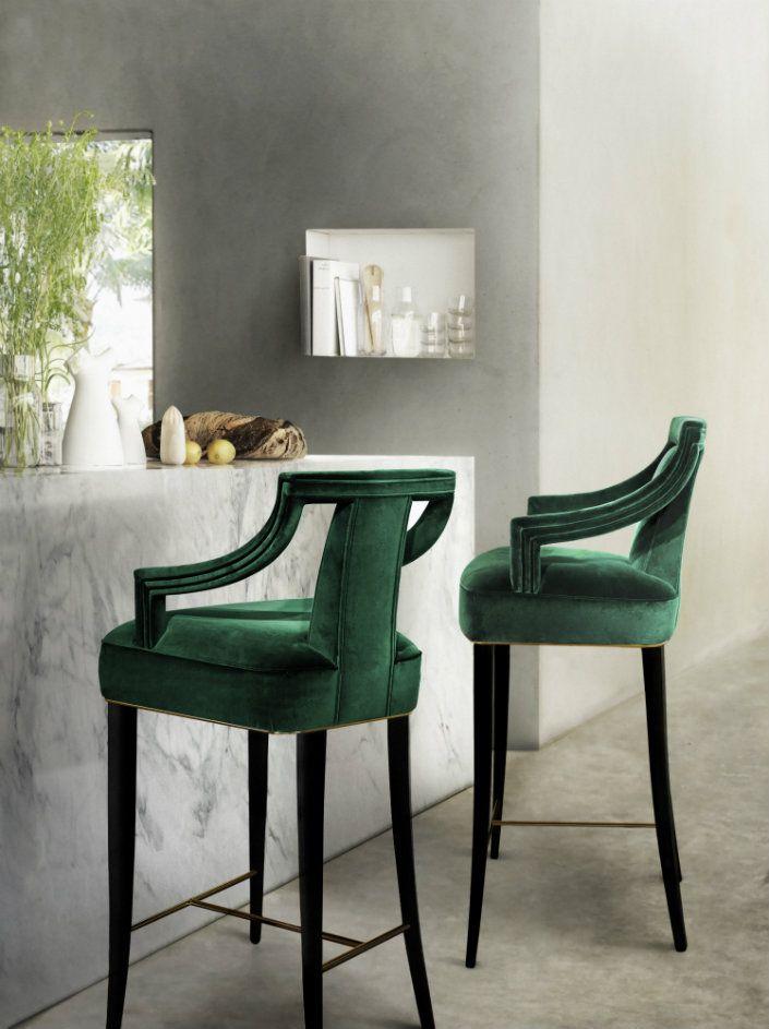 Барные стулья с подлокотниками