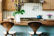 Фото 7 Барные стулья для кухни (56 фото): предмет мебели и стильное решение интерьера