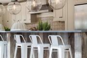 Фото 1 Барные стулья для кухни (56 фото): предмет мебели и стильное решение интерьера