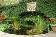 Фото 2 Декоративный пруд (55 фото): красота и комфорт своими руками