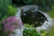 Фото 6 Декоративный пруд (55 фото): красота и комфорт своими руками