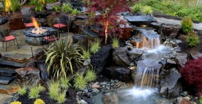 Декоративный пруд (55 фото): красота и комфорт своими руками фото