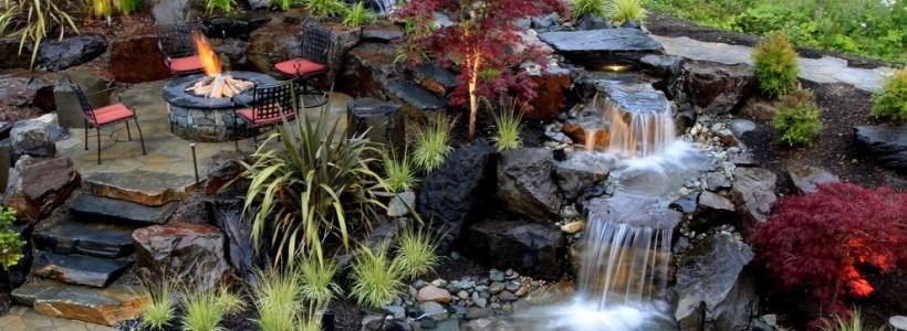 Декоративный пруд (55 фото): красота и комфорт своими руками