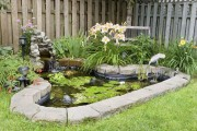 Фото 18 Декоративный пруд (55 фото): красота и комфорт своими руками