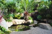 Фото 1 Декоративный пруд (55 фото): красота и комфорт своими руками