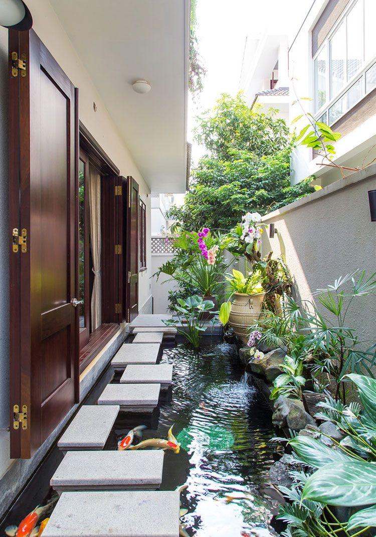 Интересное решение для маленького домашнего сада