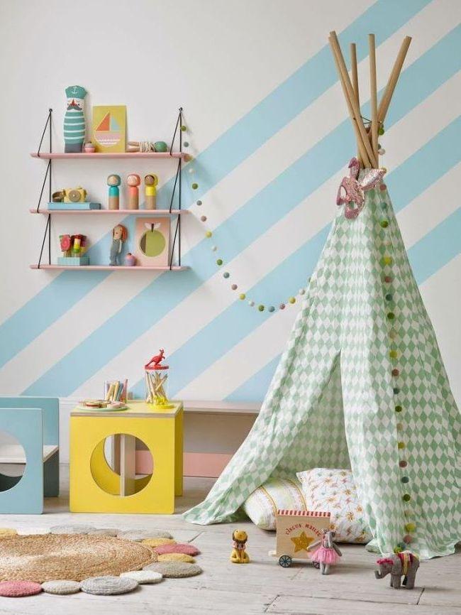 Дети любят прятаться в домики и палатки - порадуйте их этим атрибутом