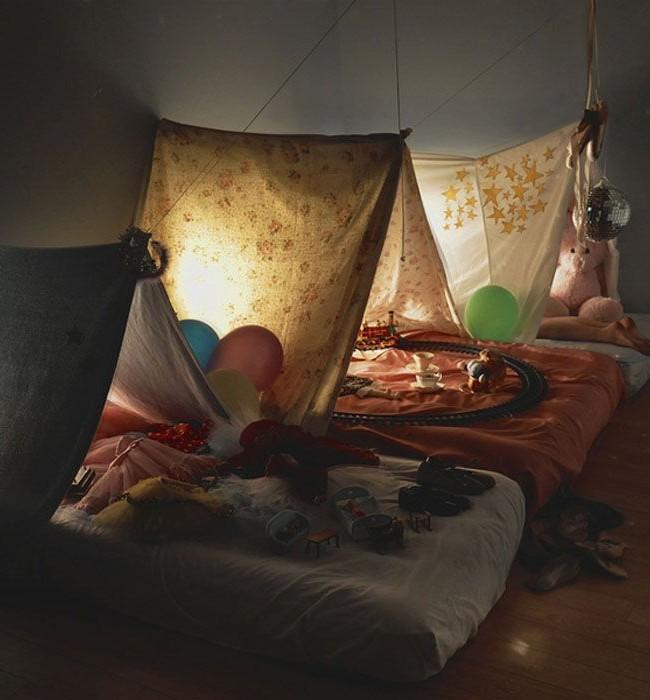 Сказочный палаточный городок