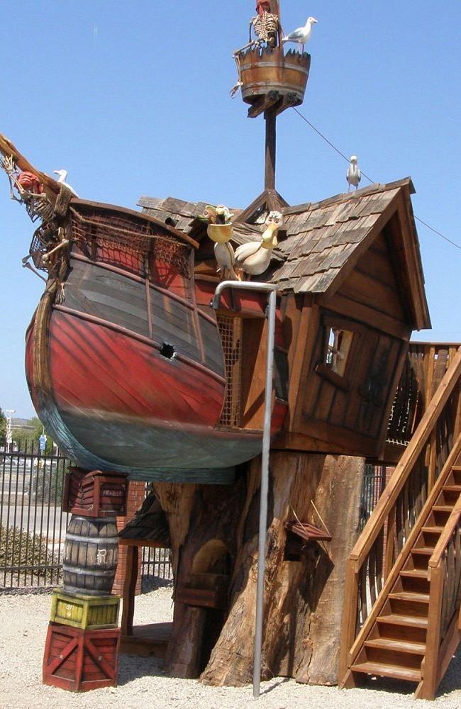 Игровой домик - пиратский корабль