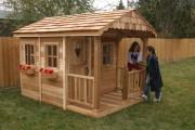 Фото 22 Детские домики своими руками (59 фото): варианты игровых построек для детей