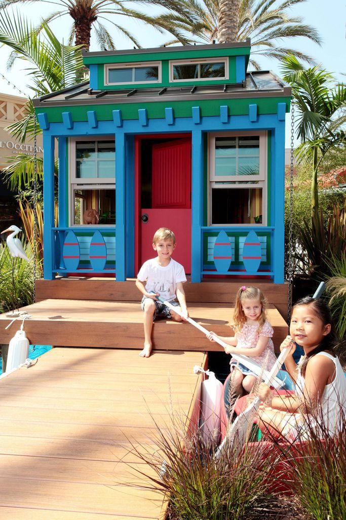 Игровой домик - прекрасный вид досуга для детей